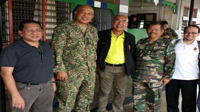Kerjasama erat dengan pihak tentera