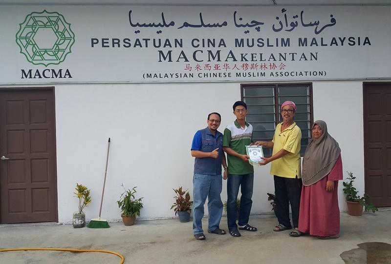 Khaw Lek Ming - Timbalan Pengerusi MACMA Pualau Pinang pada 17 Oktober 2015